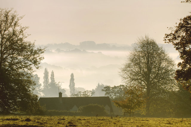 Nailsworth View by Martin Fowler (via Shutterstock).