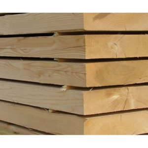 White Wood Plained - All Round