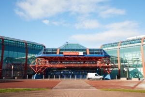 Timber Expo 2017 venue, Birmingham NEC. Image by Monkey Business Images (via Shutterstock).