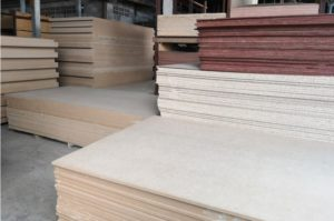 veneered MDF board